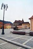 do centrum miasta brasov stary Romania Fotografia Stock