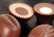 Do chocolate vida ainda Fotografia de Stock Royalty Free