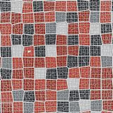Do conceito do voronoi teste padrão tesselated poli geométrico abstrato baixo rendição 3d Foto de Stock