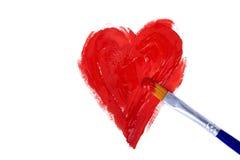 Do coração Imagens de Stock