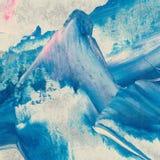 Do curso abstrato da escova da textura do fundo do vetor sagacidade pintado à mão Imagem de Stock Royalty Free