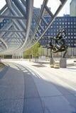 ½ do ¿ de Olympiaï do bailado do ½ do ¿ do ï por Paul Manship em um Peachtree Center, Atlanta, Geórgia Imagem de Stock
