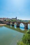22do del puente de agosto de 1944 en Albi, Francia Fotografía de archivo libre de regalías