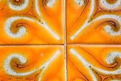 Do detalhe antigo da porta do fundo da telha do vintage a superfície branca da estrutura Textured fotografia de stock