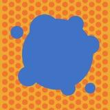 Do espaço vazio da cópia do conceito do negócio do projeto a placa abstrata moderna do fundo deformou a cor em volta da forma com ilustração royalty free