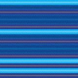 Do estilo azul da listra do homem da camisa teste padrão sem emenda Foto de Stock