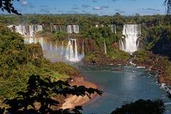 do falls foz iguacu 库存照片