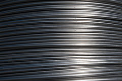 Do fio de alumínio para recicl Fotografia de Stock Royalty Free