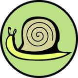 do formatu escargot ślimaka wektora royalty ilustracja