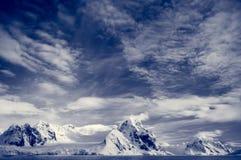 do góry śnieżne Obrazy Stock