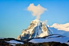 do góry śnieżne Obrazy Royalty Free