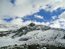 do góry śnieżne Zdjęcia Stock