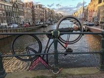 Do góry nogami w Amsterdam Obrazy Royalty Free