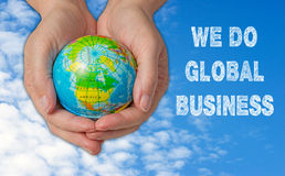 We Do Global Business Concept Stock Images