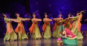 "Do Glutinous Rice Balls dance-Dance drama ""The Dream of Maritime Silk Road"". Dance drama ""The Dream of Maritime Silk Road"" centers on the plot of two Royalty Free Stock Images"