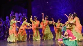 "Do Glutinous Rice Balls dance-Dance drama ""The Dream of Maritime Silk Road"" Stock Photos"