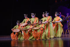 "Do Glutinous Rice Balls-Dance drama ""The Dream of Maritime Silk Road"" Royalty Free Stock Image"