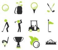 Do golfe ícones simplesmente Foto de Stock