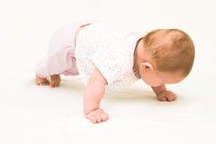 We do gymnastics! Stock Photos