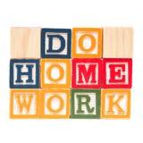 Do Home Work Stock Photos