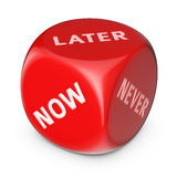 Do It Later Royalty Free Stock Photo