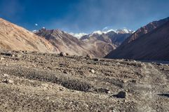 Do Karakul a Khorog Foto de Stock