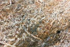 Dołkowata kamienna tekstura Zdjęcia Royalty Free
