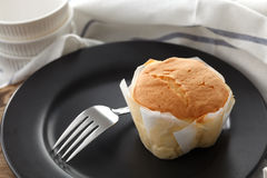 Do mel do bolo de queijo macio das pastelarias da sobremesa close up doce da vida ainda Fotografia de Stock