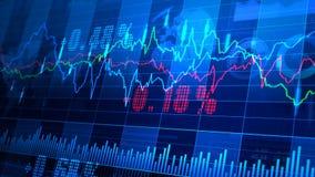 _064 do mercado de valores de ação video estoque