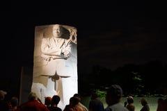 do monumento de Martin Luther King fotos de stock
