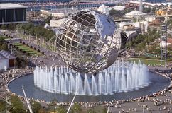 ` 1964 do mundo s Unisphere justo, New York fotografia de stock royalty free