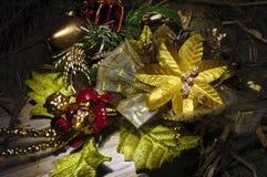 Do Natal da decoração vida festiva ainda Fotos de Stock Royalty Free
