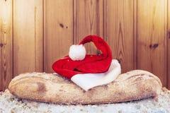 Do Natal decoração da vida ainda no fundo de madeira Imagem de Stock