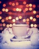 Do Natal do café vida quente ainda Fotos de Stock