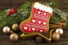 Do Natal pão-de-espécie do witn da vida ainda Imagens de Stock
