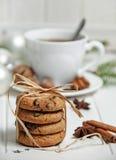 Do Natal vida ainda com biscoitos Imagem de Stock Royalty Free