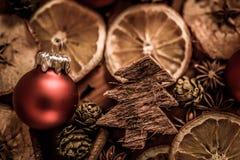 Do Natal vida ainda com fruto e especiarias Foto de Stock Royalty Free