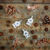 Do Natal vida ainda Configuração lisa Vista superior Imagem de Stock Royalty Free