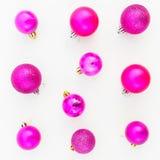 Do Natal vida ainda Configuração lisa Vista superior Fotos de Stock Royalty Free