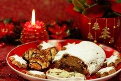 Do Natal vida bonita ainda com bolo Fotografia de Stock