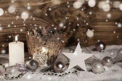 Do Natal vida invernal ainda Fotos de Stock Royalty Free