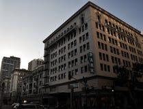 Do negócio da construção baixa velha dentro de San Diego Fotografia de Stock Royalty Free