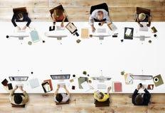 Do negócio profissional da ocupação do escritório conceito incorporado imagens de stock royalty free