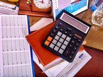 Do negócio vida ainda na tabela no escritório Foto de Stock