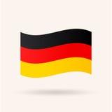 do Niemiec bandery okulary stylu wektora Obraz Stock