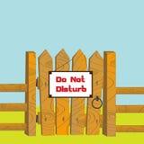Do no disturb Stock Photo