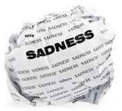 Do not be sad Stock Image