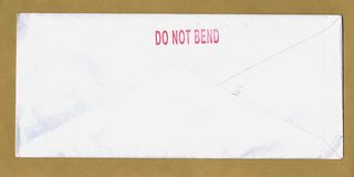 Do not bend Royalty Free Stock Photo
