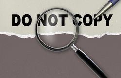 Do not copy Stock Images