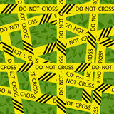 DO NOT CROSS Stock Photo